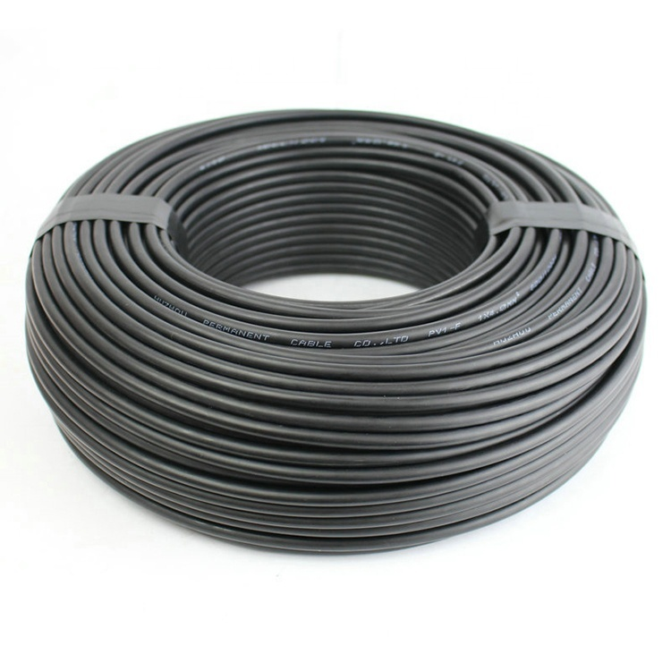 TUV certificated approved 1000V 1500V 4mm2 6mm210mm2 power pvc sheath dc pv cable solar cable
