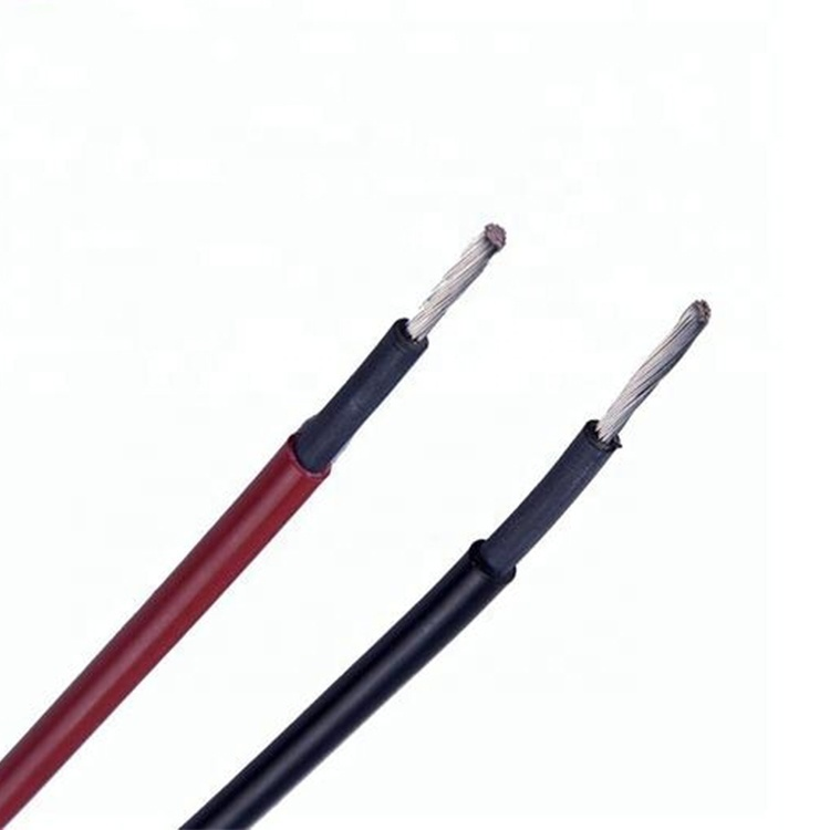 Solar Electronic panel 4m2 6m2 8m2 10m2 H1Z2Z2-K EN50618 1500V DC solar cable wire TUV approved Xlpe core cable