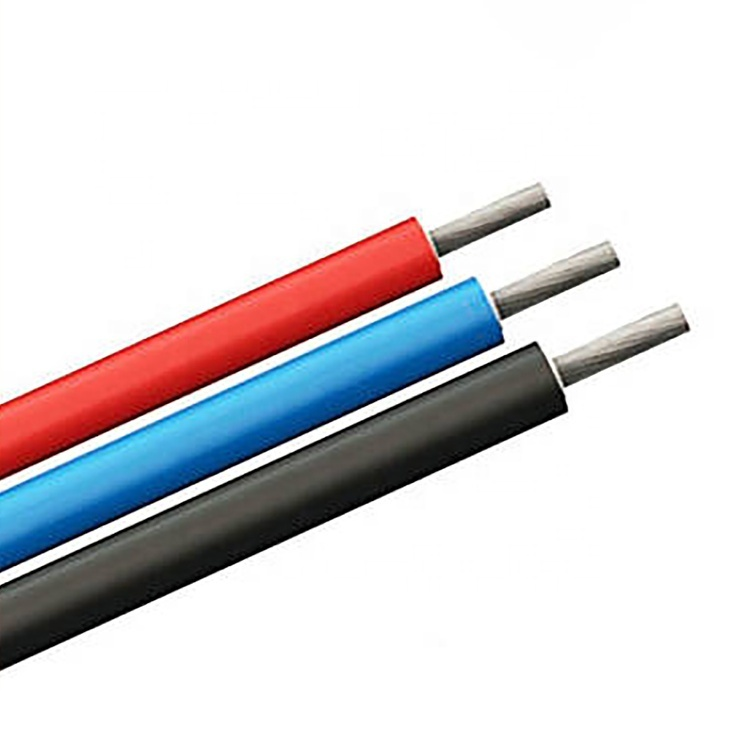 2020 CE TUV certificated Factory direct sale solar cable 4mm2 twin solar cable supplier for sale