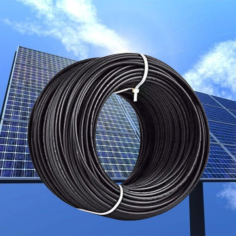 Promotion price pv1-fsolar 10 awg cable1000v 6mm 70a multicores pv copper electrical solar cable