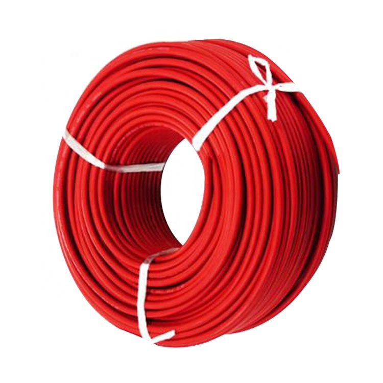 2020 China Power Cable factory Red 6mm PV1-F for solar panel collecting cable