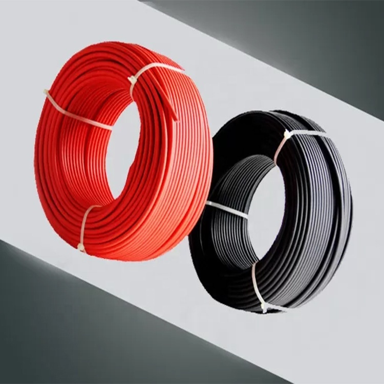 China solar panel cable price PV DC cable wire H1Z2Z2-K EN50618 1500V DC solar power inverter cable