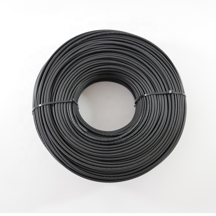 DC PV Xlpe solar cable wire free of charge sample solarcable wire black red orange solar cable