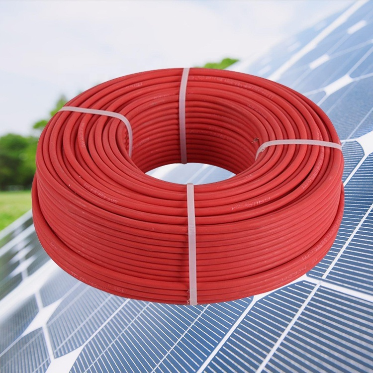 Guangdong cable factory manufactory 2.5mm2 4mm2 6mm2 10mm2 16mm2 solar wire