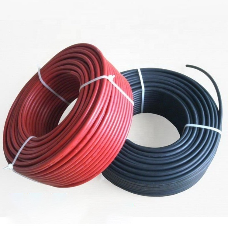 Guangdong cable factory manufactory solar PV DC cable wire H1Z2Z2-K EN50618 1500V DC Solar cable