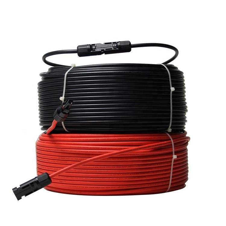 2020 Guangdong cable factory manufactory solar PV DC cable Black PV Solar Cable Wire