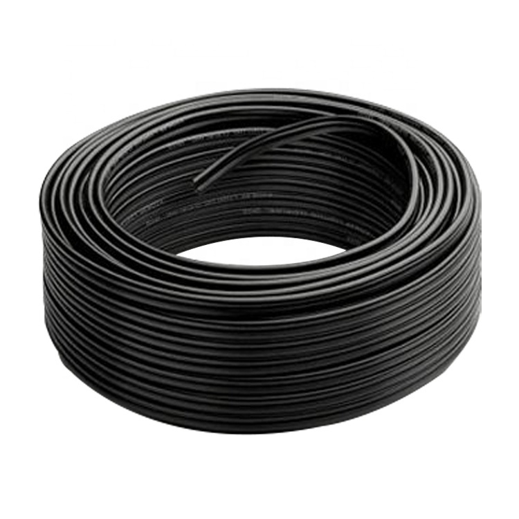 2020 Guangdong cable factory solar cablered 4mm pv1f for solar panel collecting tuv 1*4mm solar cable wire