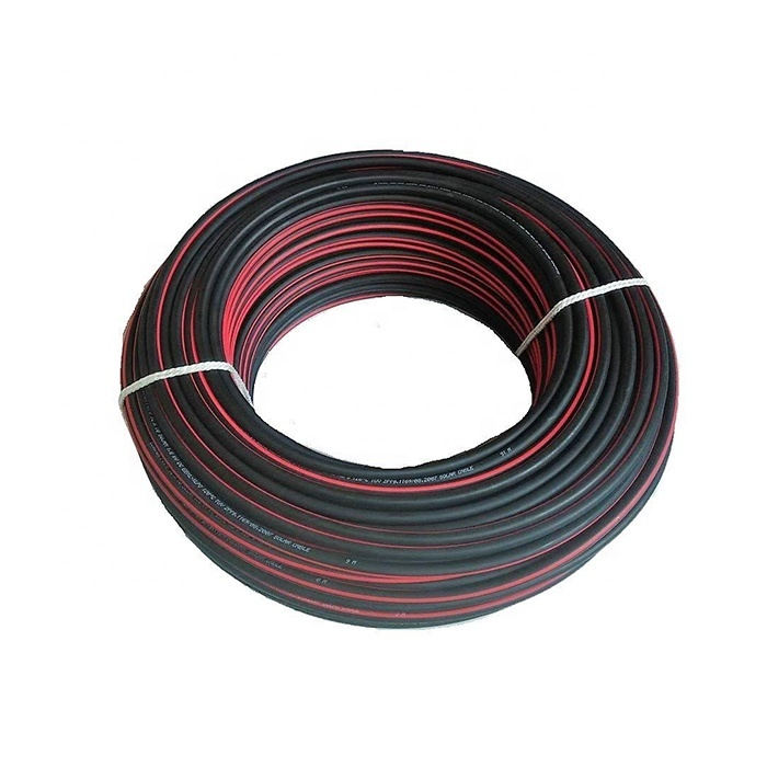 2020 Guangdong cable factory 2.5mm2 4mm2 6mm2 10mm2 16mm2 photovoltaic solar panel cable wire