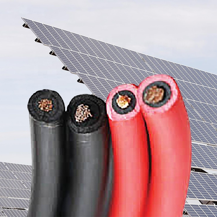 2020 CE TUV certificated solar power cable pv1 f solar cable 4mm h1z2z2-k solar extension cable