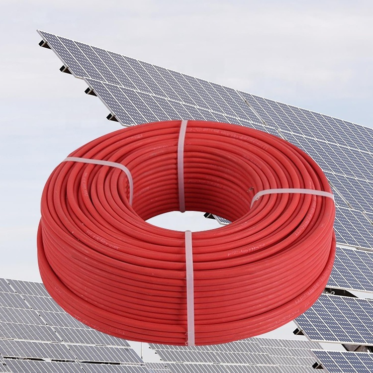 New technology solar power cables for a 3500w system solar cable 1x10mm 1500vdc solar cable1500v cable