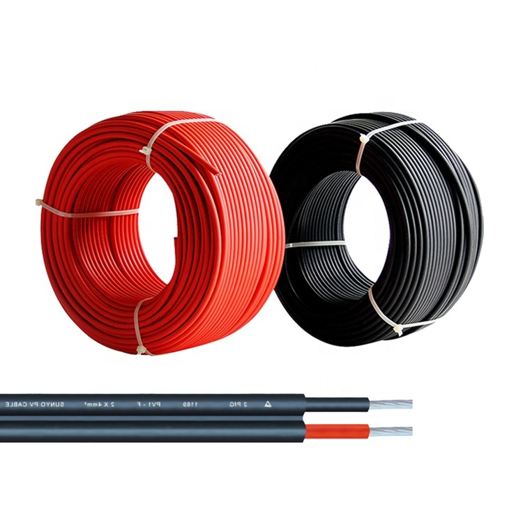 Multi-cores resistant flexible pv solar cable 6mm 4 core flexible submersible cable