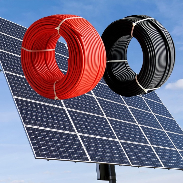2020 Multi-cores resistant flexible pv solar cable power solar cable distribution equipment