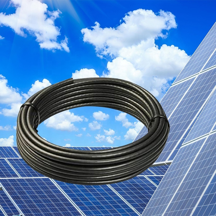Free sample Guangdong cable factory 6mm Red black Solar Cable 1800V DC Rated PV Panel Wire