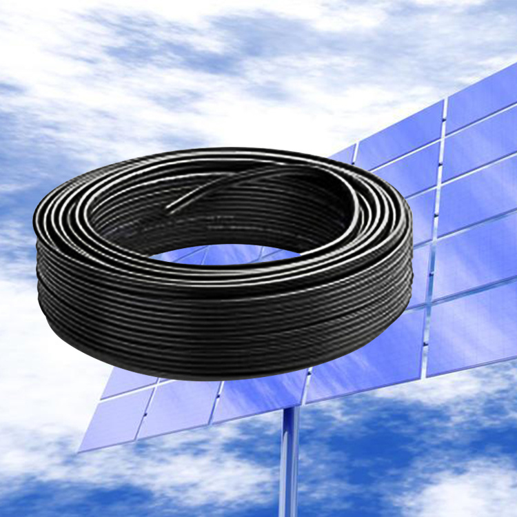 Guangdong cable factory manufactory 4g1.5mm2 Vulcanized Rubber Solar Wire And Cable