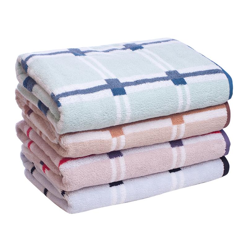 Factory Sale cotton colorful jacquard bath towel