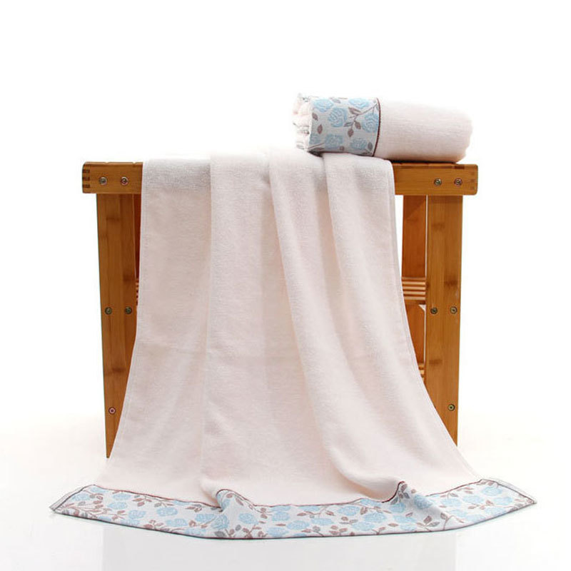 100% Cotton Jacquard Bath Shower Towel