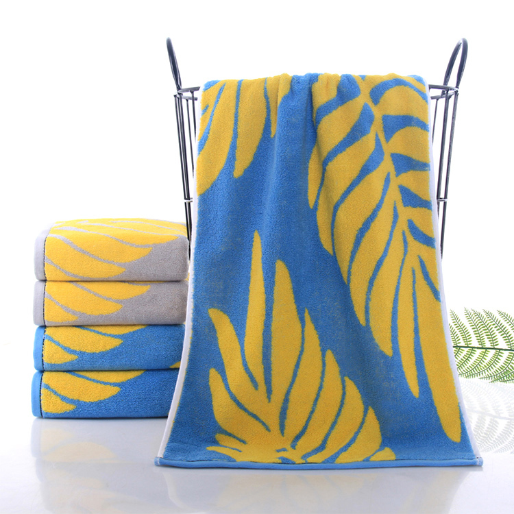 OEM custom cotton towel soft jacquard face towel