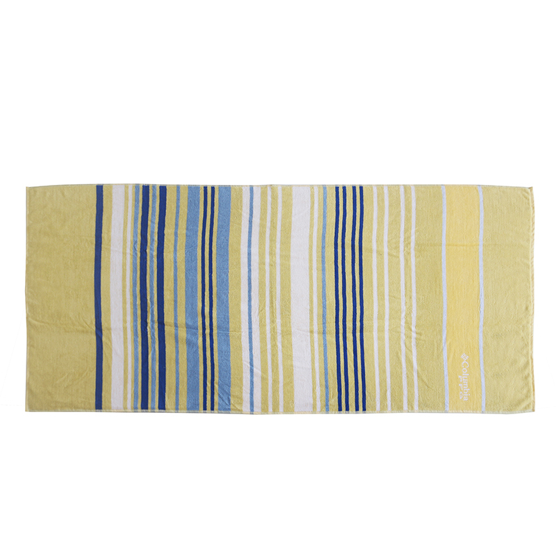 New design custom 100% cotton two-color jacquard can be customized LOGO bath towel