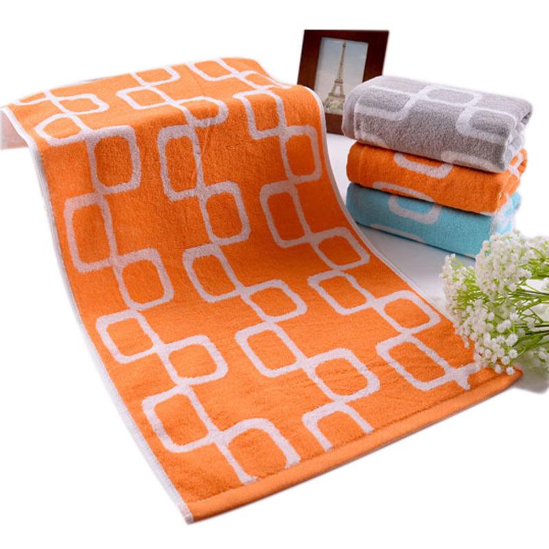 Factory price wholesale cotton jacquard face towel set