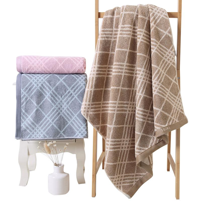 China Factory Supply High Quality 100% Terry Cotton Jacquard Bath Towel 70x140cm Towel Sets