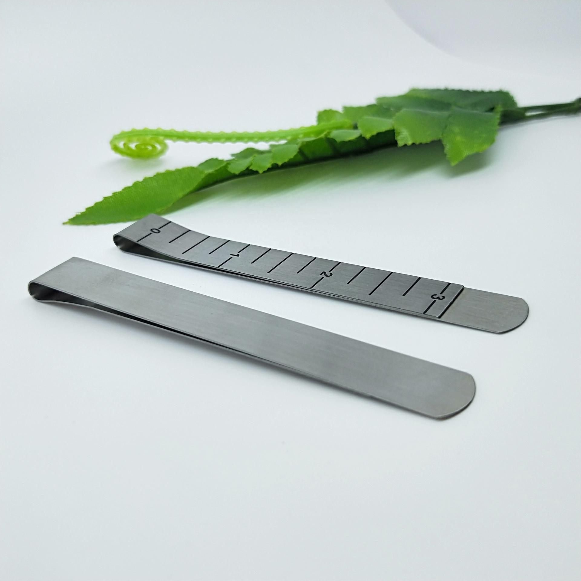 304 stainless steel customized money clip with logo,money holder clip