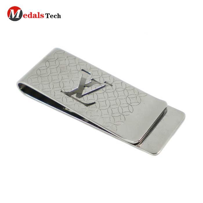 Dongguan 2019 new style metal fold pocket blank money clips