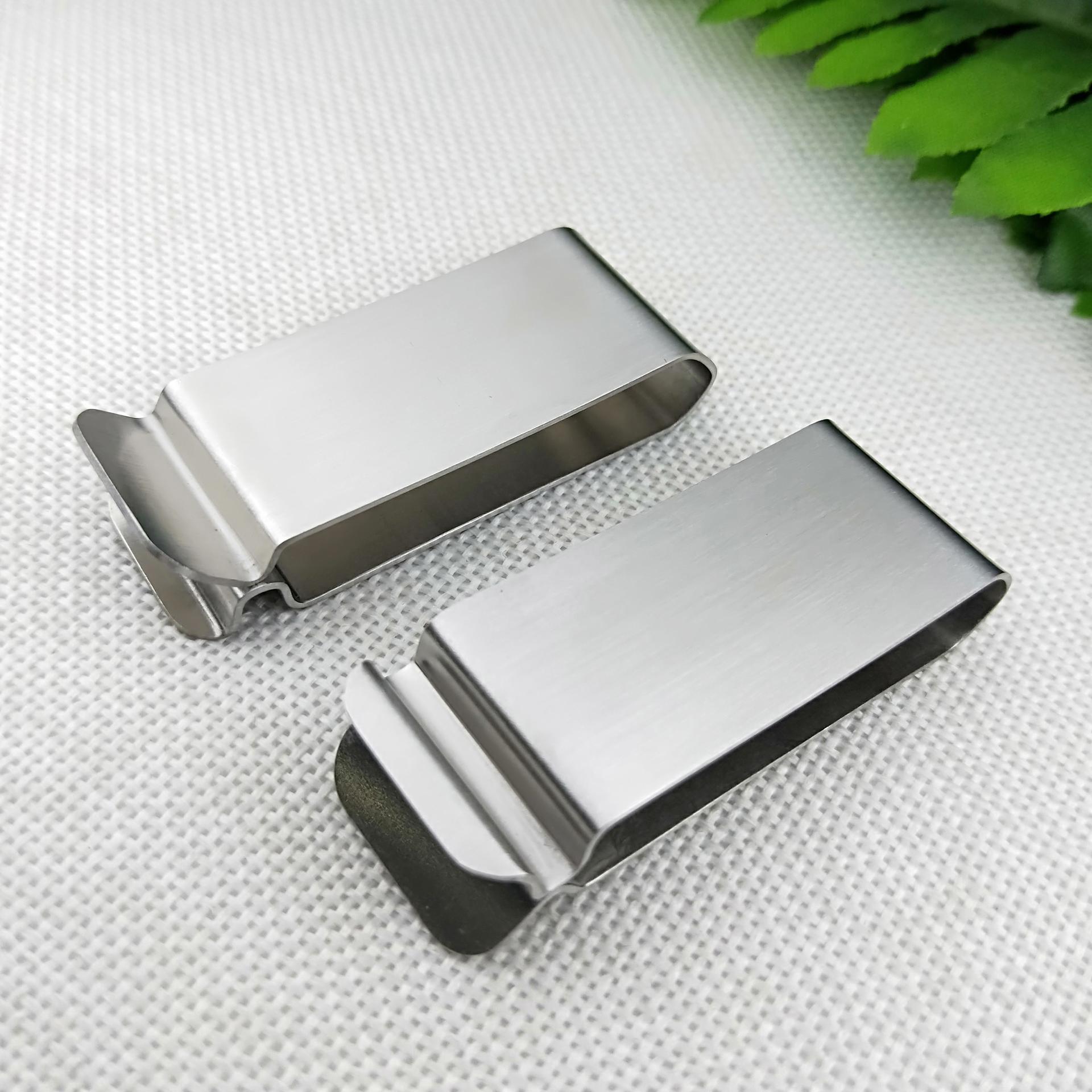 Wholesale cheap custom metal money clip for men