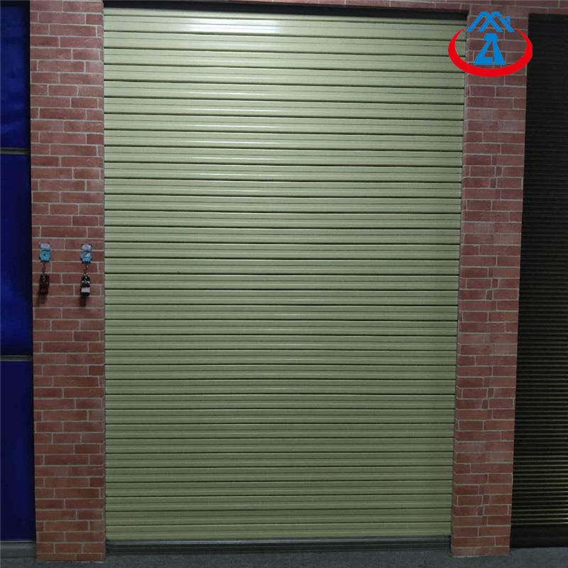 Good Quality Fire Protection Rolling Shutter Steel Fire Door