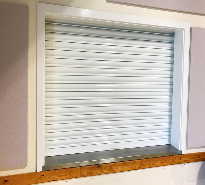 Hot Sale Steel Fire Proof Roller Shutter DoorsFire Resistant Door