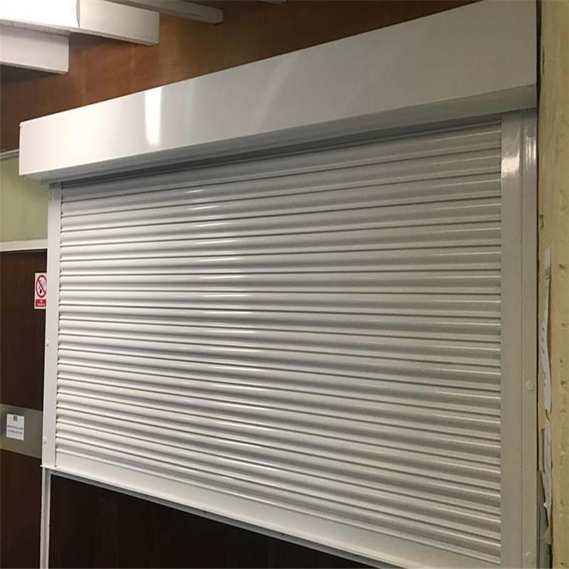 Rolling shutter roll up steel rolling doors fireproof roller shutter