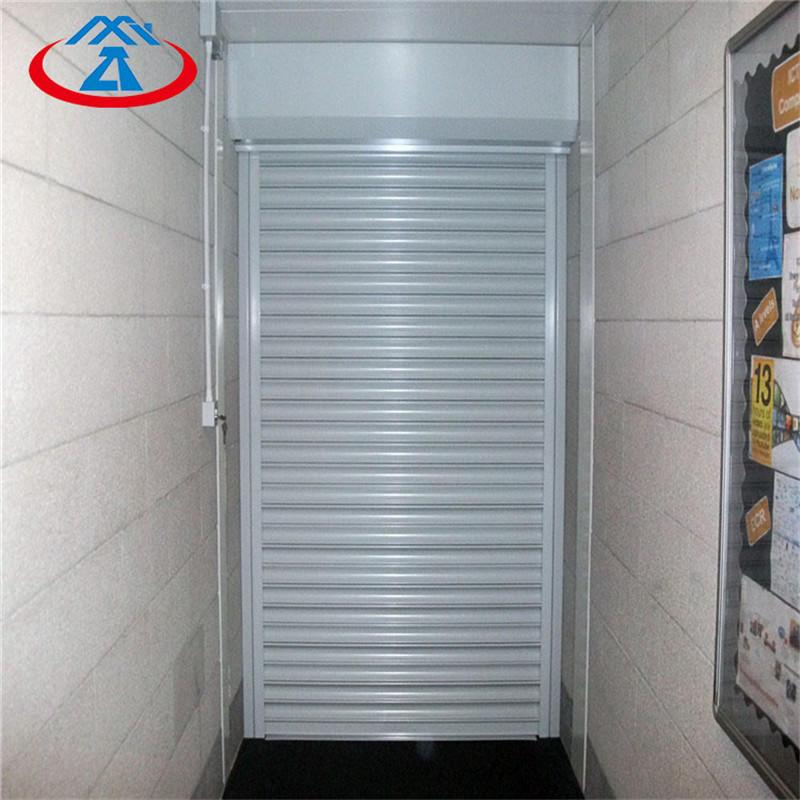 2500mm*3000mm fire steel roller shutter fireproof roll up door motor roller shutter