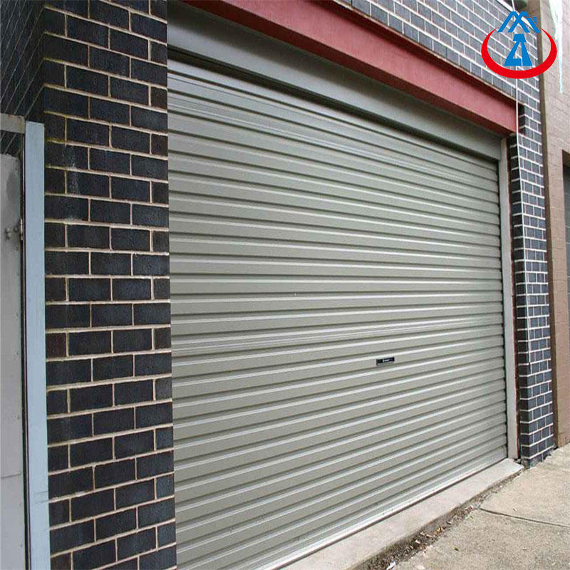 Fire Resistance Rolling Shutter Composite Steel Roll Up Door