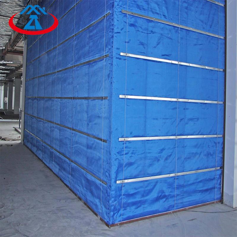 Inorganic fiber fireproof fire shutter roller shutter 2500mm*2400mm ready for ship