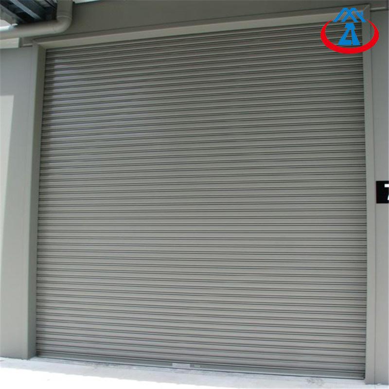 Security Shutter Steel Fireproof Door Fire Rated Rolling Shutter Door