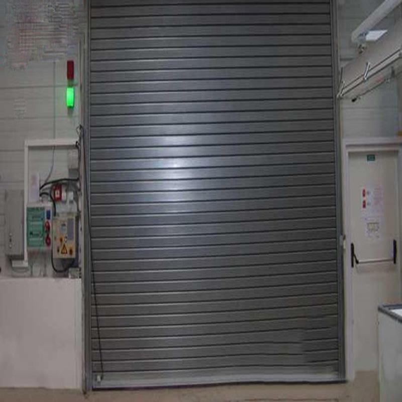 industrial Electric Steel Fire Proof Roll Up Door fire rated rolling Shutter Door