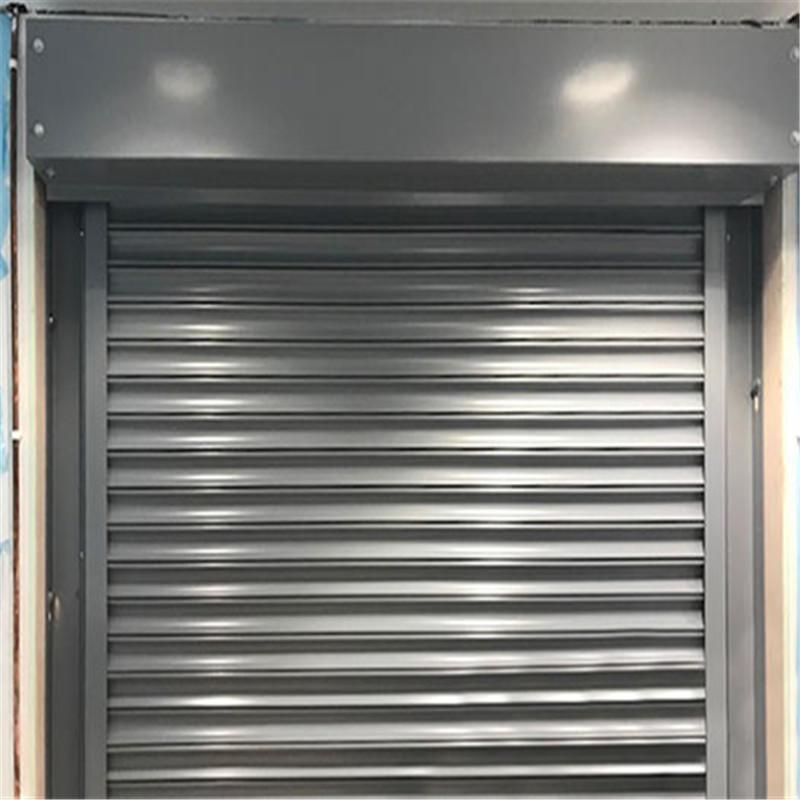 3 hours fire-resistant time rolling shutter steelfireproof rolling door