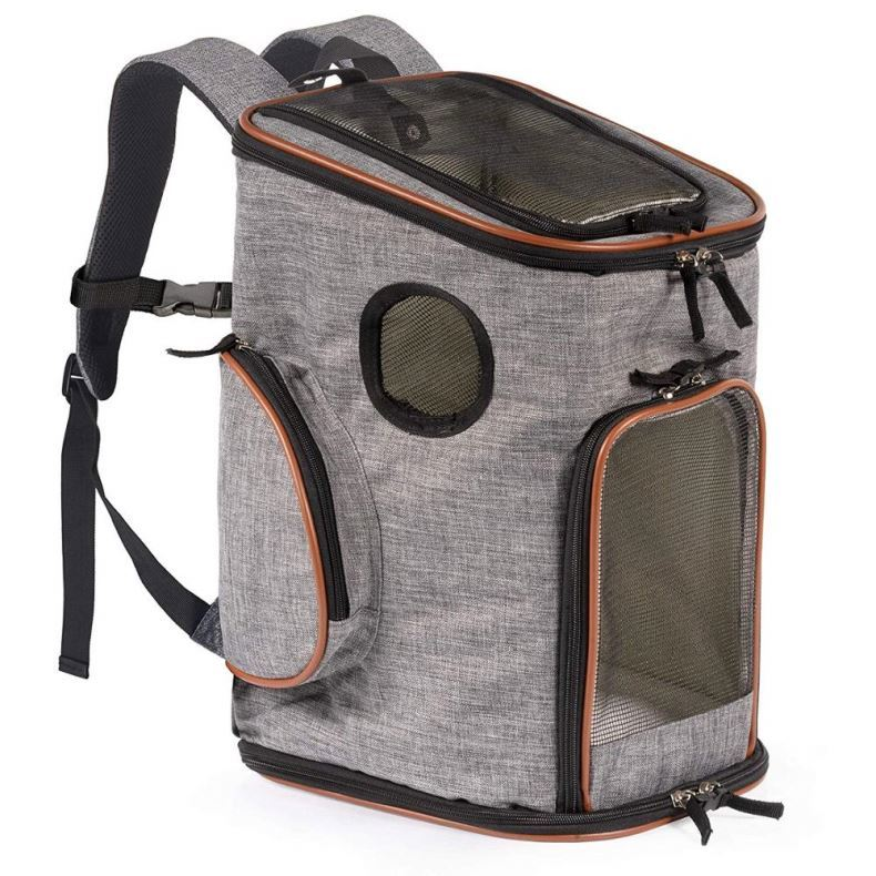 Osgoodway Personalized Oxford Foldable Pet Carrier Bag backpack for Small Dogs Cats