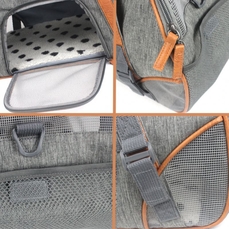 product-Osgoodway BSCI Factory Custom Soft Sided Breathable Dog Carrier Tote Bag Pet Carry Bag-Osgoo-1