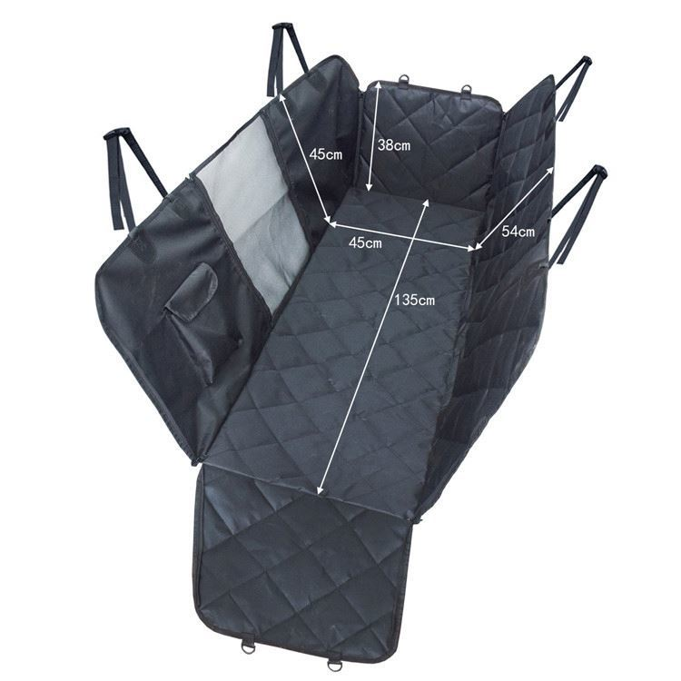 Osgoodway Heavy Duty Pet Car Seat Cover Hammock with Mesh Window