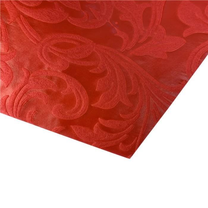 0.8m*50m Phoenix Tail embossed nonwoven fabric PP spunbond non woven fabric