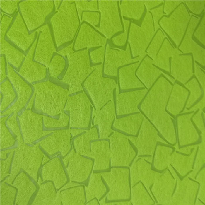 New Design Embossed Pattern PP Spunbond Nonwoven FabricFor Wall Paper And Packing Flower
