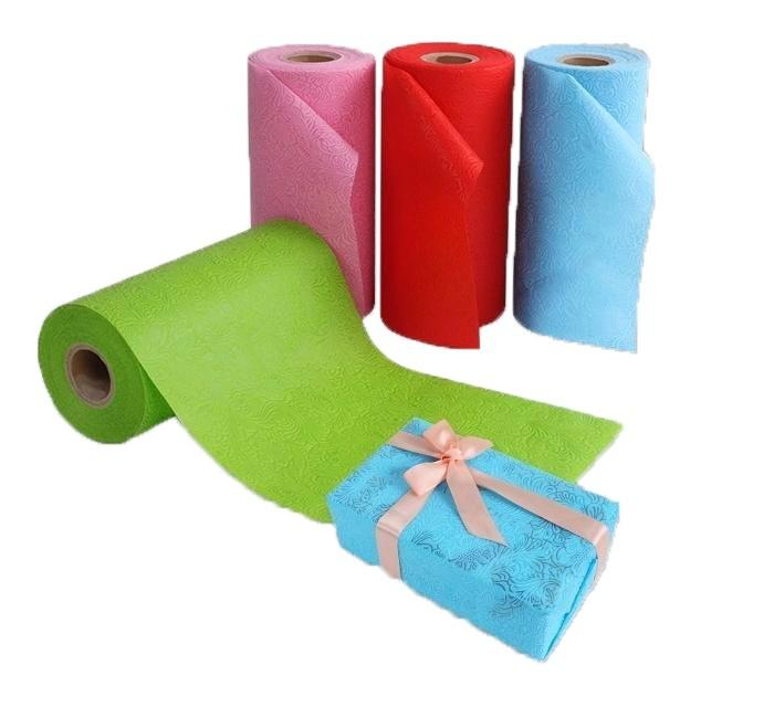 new festival products pp non woven fabric roll for flower wrap gift box packaging