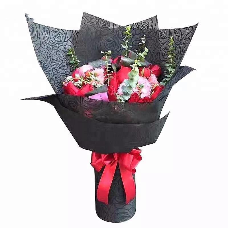 Embossed Non Woven use for flower gift packing