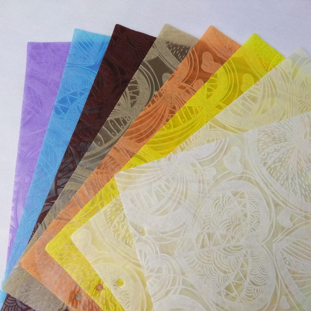 New emboss pattern pp nonwoven flower packing wholesale
