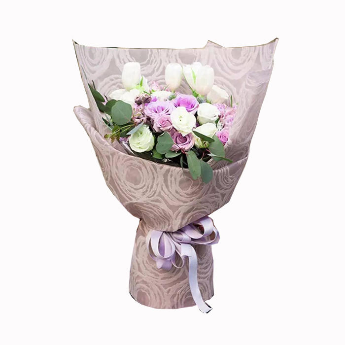 100% PP non woven fabric flower wrapping paper waterproof christmas gift flower packing use