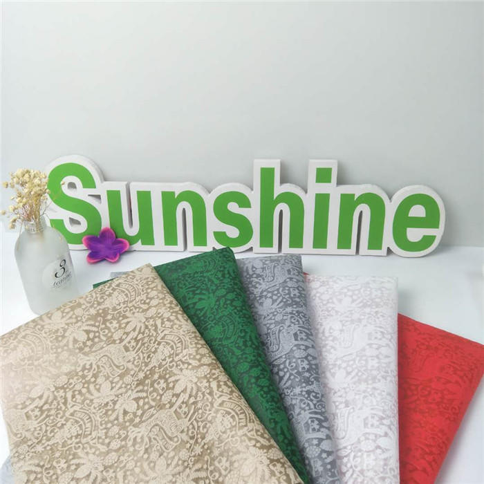 New design Embossed pp spunbond non-woven fabric for gift package Flower wrapping Weeding decoration Bag Tablecloths