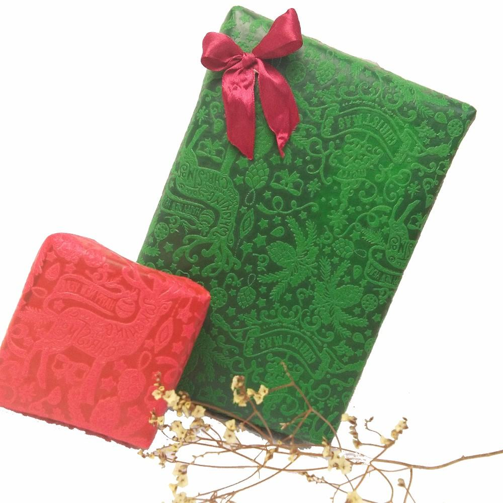 Sunshine Christmas special design embossed nonwoven fabric manufacture gift wrapping paper,flower wrapping roll