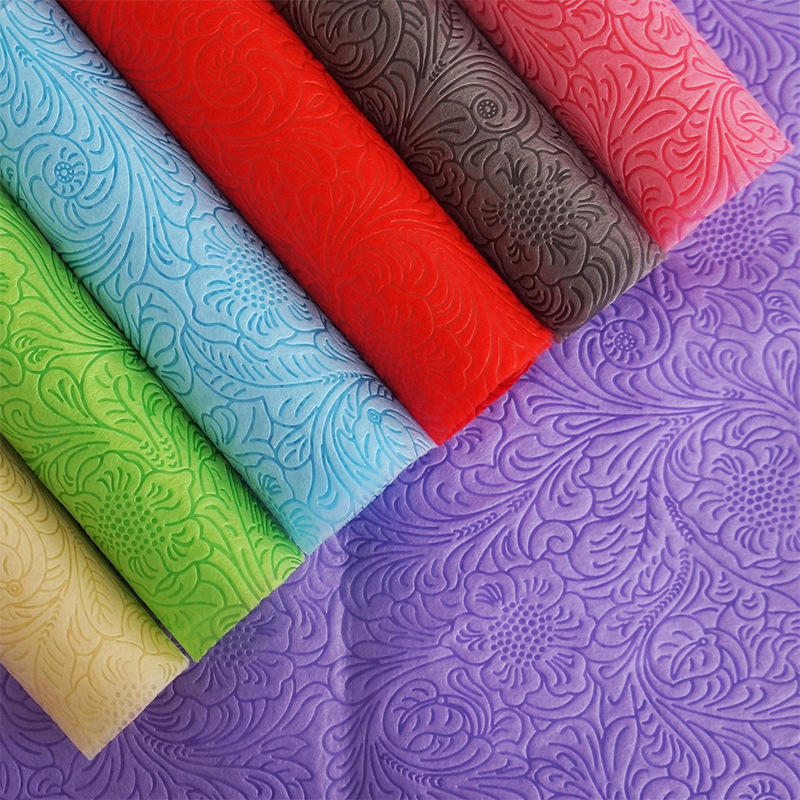 100% Polypropylene Material Nonwoven Technics flower wrapping material