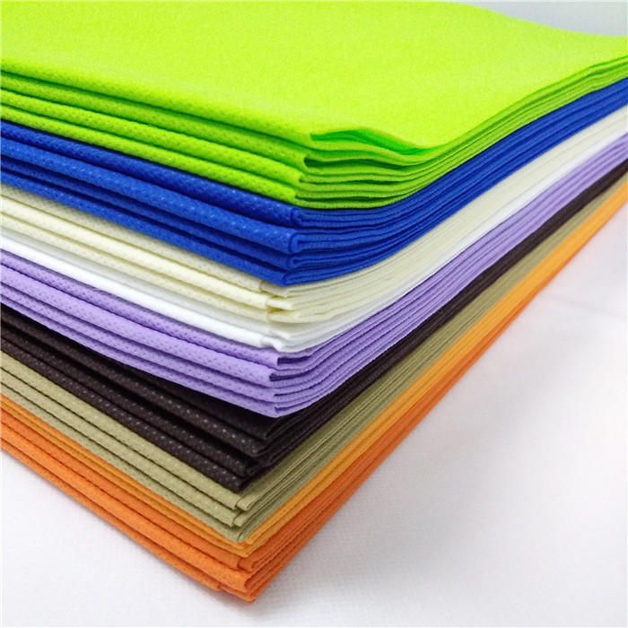 colorful100%pp spunbond nonwoven fabric for table cloth