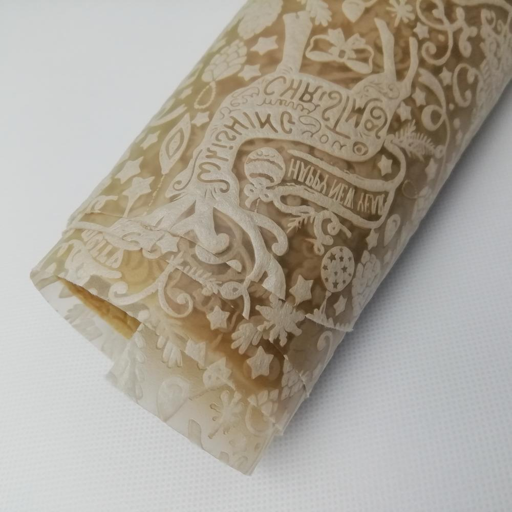 Factory supply Hight quality 100% PP embossed non woven fabric for gift wrapping